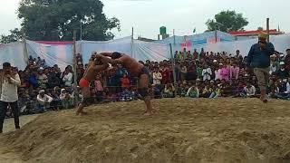 Nepali ||Thapa ||Sherpur Dangal Kushti 2018 October  new Please mera channel