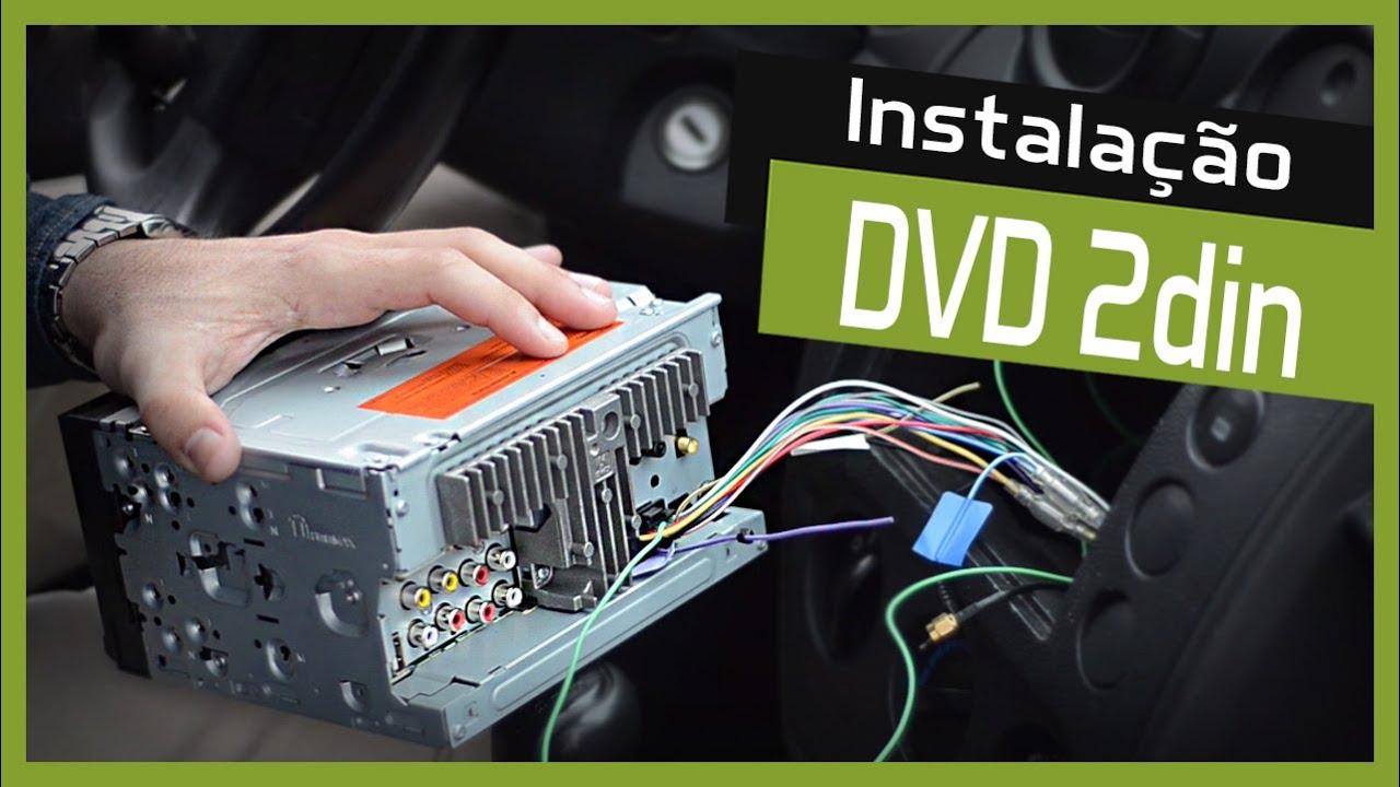 Como instalar um DVD Player Automotivo 2 DIN - Faa Voc Mesmo DIY - YouTube