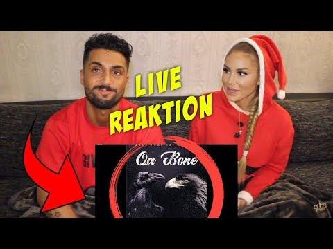 Azet feat. Raf Camora - QA Bone (official Audio) live reaction | Lisha&Lou
