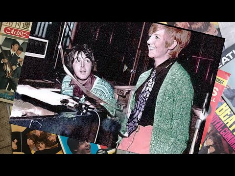 ♫ Paul McCartney with Cilla Black recording session of the song 'Step Inside Love' 1967 /photos