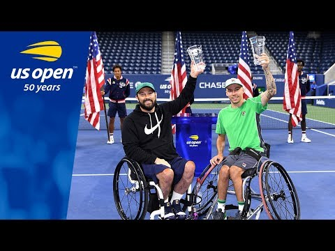Andy Lapthorne & David Wagner Championship Point 2018 US Open