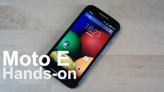 Hands-on: Moto E Dual SIM Thumbnail