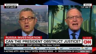 Dershowitz: Trump Cannot Obstruct Justice By Firing or Pardoning Someone