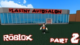 Roblox-Car Tycoon | Part 2 | The custom motor show