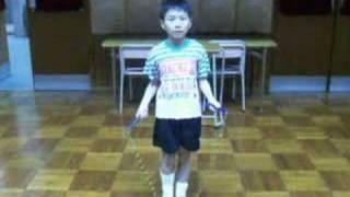 2008北區小學校際花式跳繩比賽之個人花式示範影片