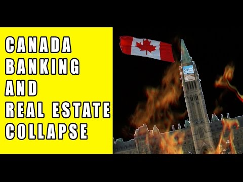 Alert Canada Real Estate And Banks At High Risk For Collapse