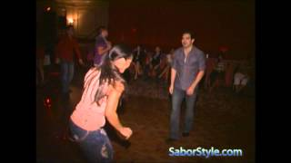 Salomon Amaya & Griselle Ponce Freestyle Salsa Dance, Presented by Sabor & Style