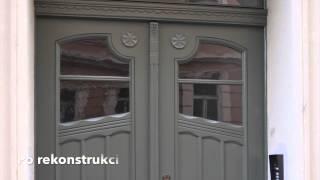 Renovace dveří Praha - Jak renovovat vchodové dveře - renovace dveří Praha