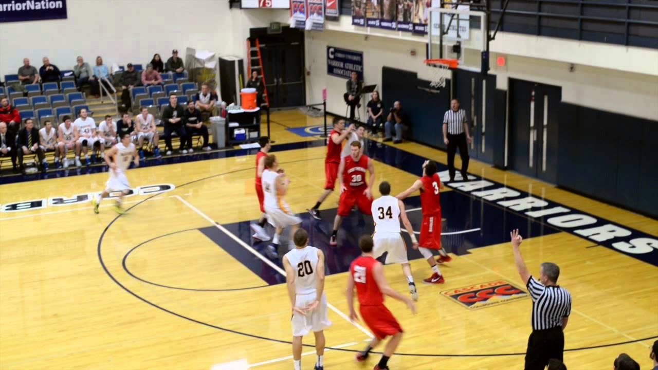 Corban Men's Basketball vs No. 16 Southern Oregon (1/3/15 ...