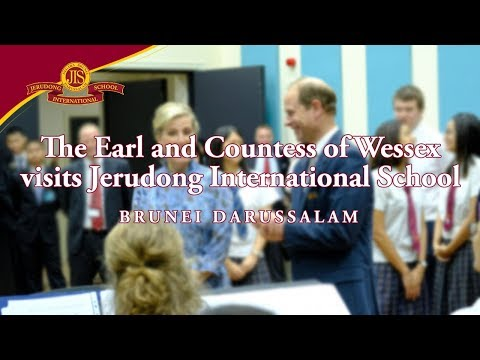The Earl and Countess of Wessex visits JIS (Full) - Jerudong International School (JIS Brunei)
