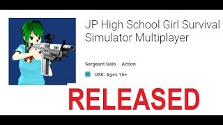 RELEASED! JP High School Girl Survival Simulator Online Multiplayer CO-OP or Deathmatch ♥KAWAII MIKU