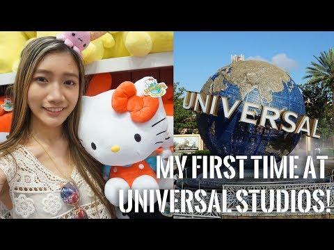 First time @ Universal Studios! (Orlando, FL) + mini art giveaway