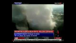 Ηφαίστειο προκαλεί τρόμο σε Χιλή και Αργεντινή