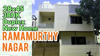 Ramamurthy Nagar 3BHK Duplex New Home #ForSale Bengaluru North East 28x45