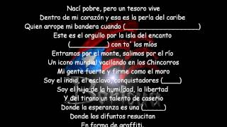 Letra Lyrics @ Don omar ft Yandel Arcangel Daddy Yankee - Yo soy de aqui (ORIGINAL)