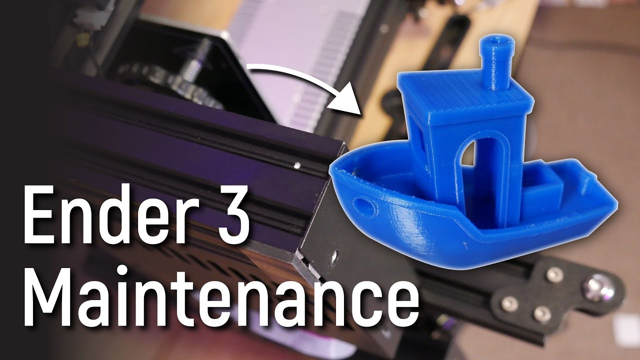 Maintain your 3D Printer and get great prints!