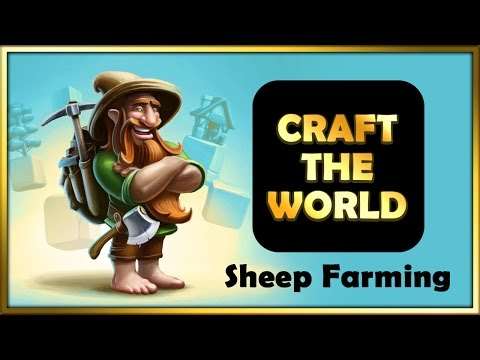 Craft the World - How to farm and shear sheep