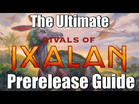 Mtg: The Comprehensive Rivals of Ixalan Prerelease Guide!