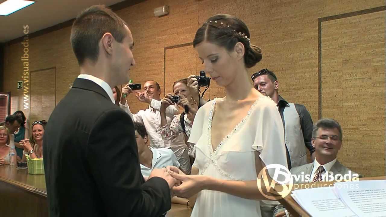 Registro De Matrimonio Catolico En Notaria : Video de boda helena y emilio ceremonia youtube