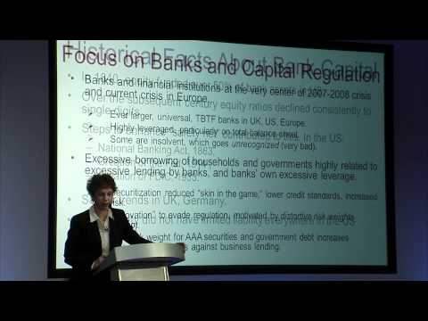 Anat Admati: Debt: The Politics and Economics of Restructuring 1/4