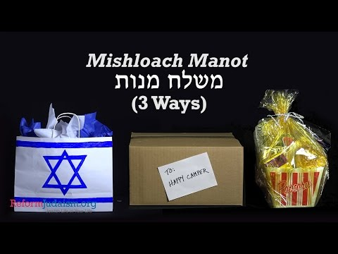Mishloach Manot (Three Ways)