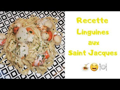 recette-linguines-aux-noix-de-st-jacques-🤤