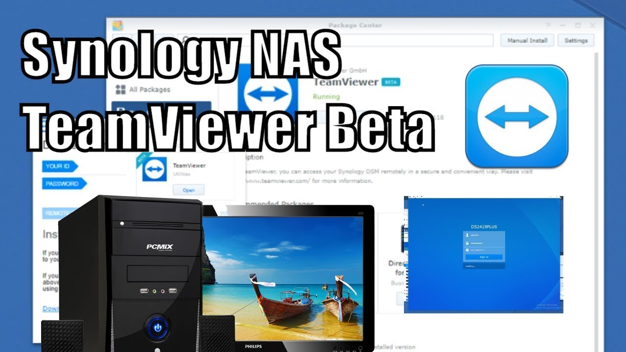 Synology NAS and Teamviewer Beta Guide - NAS Compares