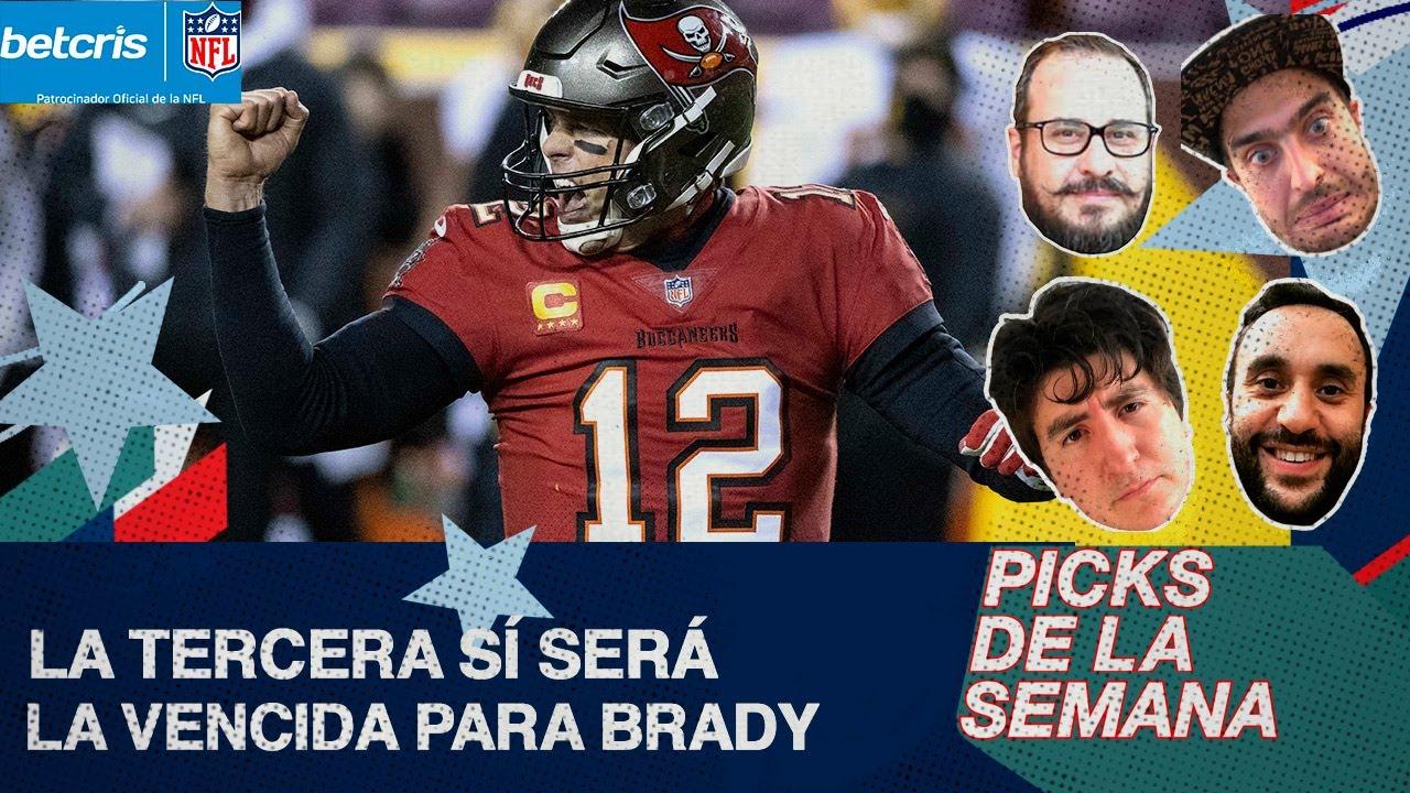 ¡Bills es favorito! | Brady ganará vs Saints | ¿Browns dará sorpresa? | Tiemblan los Packers