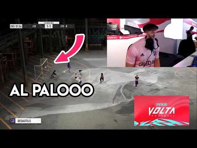 😂DjMaRiiO LE DA 4 VECES AL PALO EN VOLTA! Y ENSEÑA MYSTERY BALL