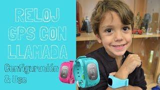 Reloj GPS Para Niños Con Localizador Y Llamadas