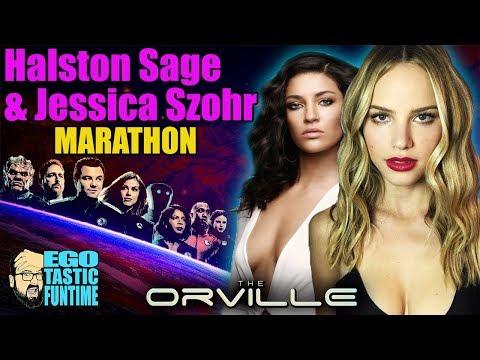 Talking TheOrville Marathon  All Halston Sage Is Leaving Episodes and Jessica Szohr Episodes