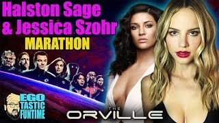 Talking #TheOrville Marathon - All Halston Sage Is Leaving Episodes and Jessica Szohr Episodes