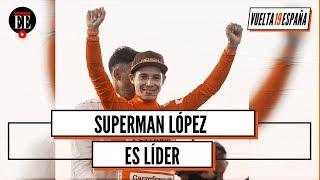 Supermán López, líder de la Vuelta a España - El Espectador