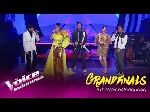 Medley Song - All Coaches | Grandfinal | The Voice Indonesia GTV 2019
