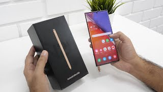 Samsung Galaxy Note 20 Ultra Unboxing & Overview (Indian Unit) Mystic Bronze