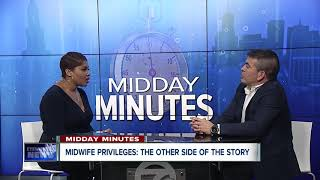 Midday Minnutes: Midwife policies and Kaleida Health