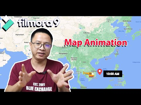 How to Create Map Animation Effect Using Filmora 9