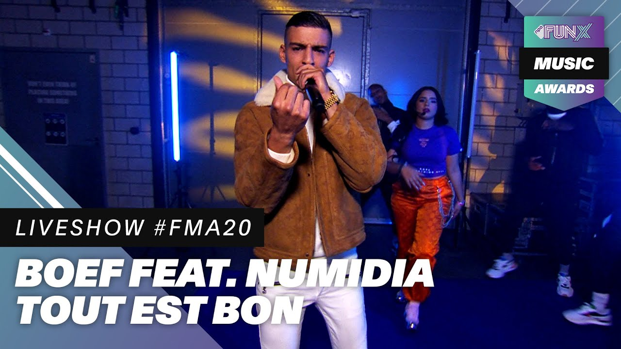 BOEF en NUMIDIA openen show met 'TOUT EST BON'! | FunX Music Awards 2020