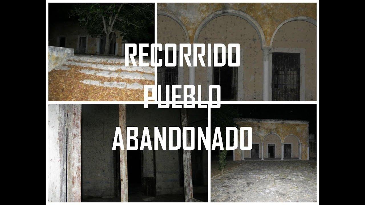 Recorrido Pueblo Fantasma Misnebalam Merida Yuc