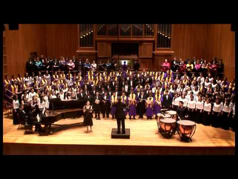 AMAZING GRACE • QUEENS COLLEGE HS CHORAL FESTIVAL