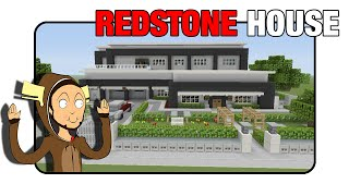 Minecraft Redstone House [Fully Functioning] |Minecraft Xbox|