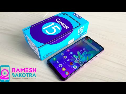 Tecno Camon 15 Unboxing and Full Review