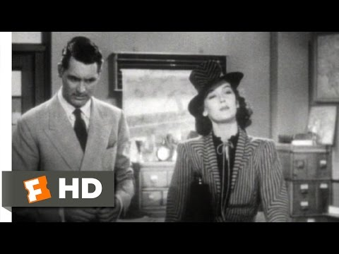 His Girl Friday (1940) - You're a Newspaper Man Scene (2/12)   Movieclips