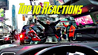 Best Supercar Reactions - Top 10 from 2016