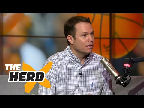 Lee Jenkins joins Colin to talk Durant, Melo and LeBron   THE HERD (FULL INTERVIEW)