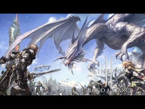 Lineage II Blood Alliance Gameplay Mobile MMORPG Version
