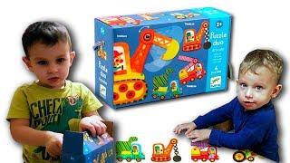 #Пазл #DJECO #Дети Лучший первый ПАЗЛ для самых маленьких. Обзор Puzzle Due