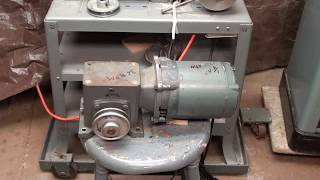 Converting Delta Saw to Metal Cutting #489 p2 Gear Motor tubalcain