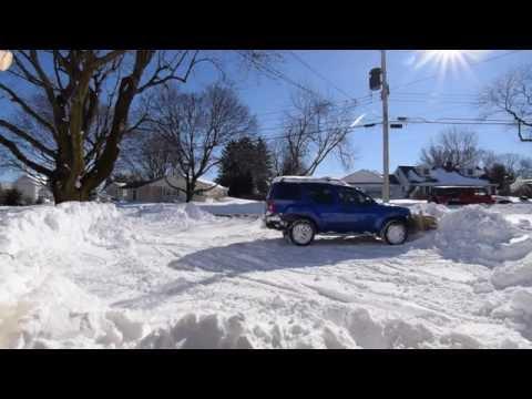 Nissan Xterra DIY front hitch snow plow part 2