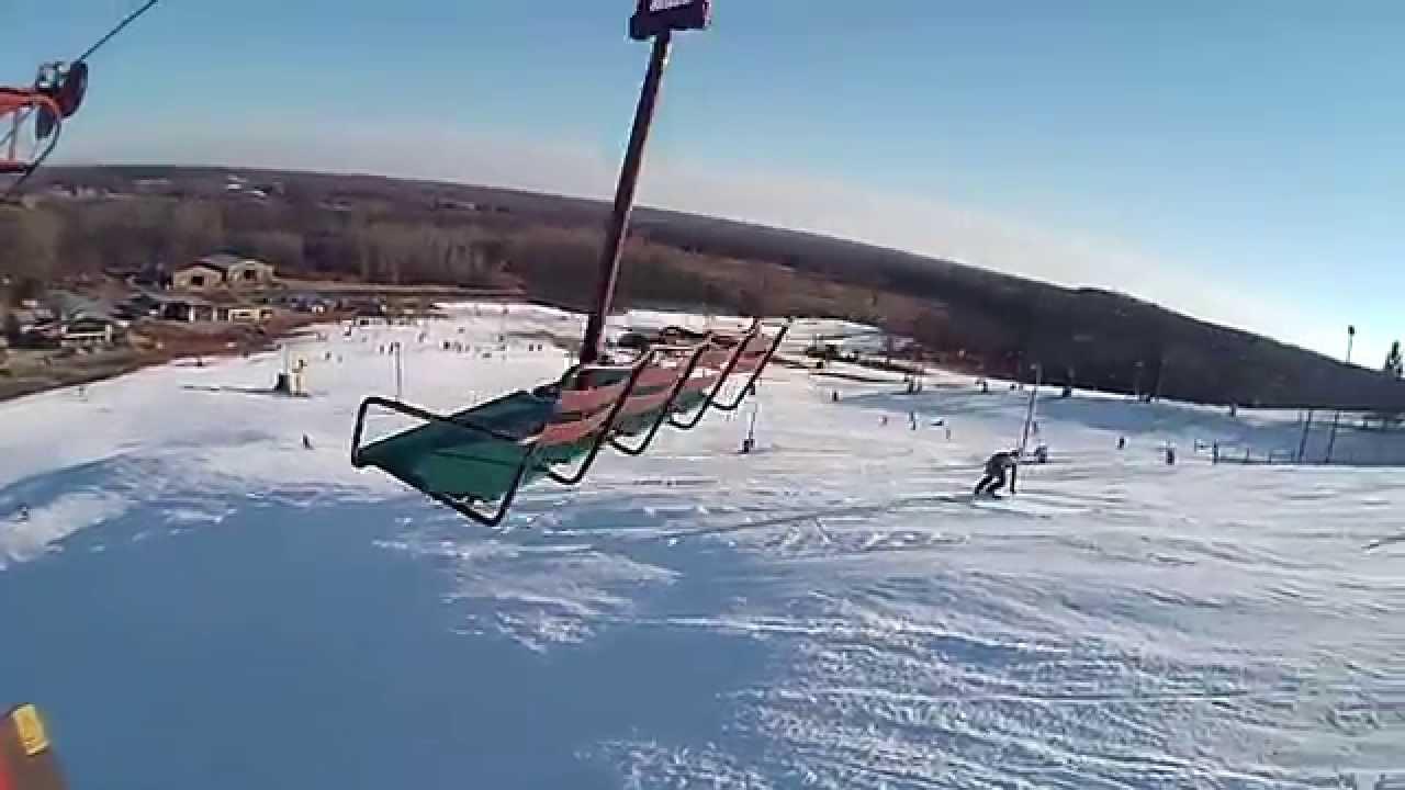 2014 to 2015 skiing season at wilmot mountain ski resort in